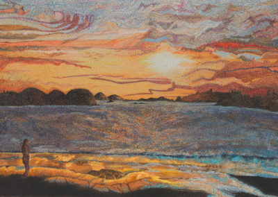 Cool Night Sunset (View Print Price/Purchase)